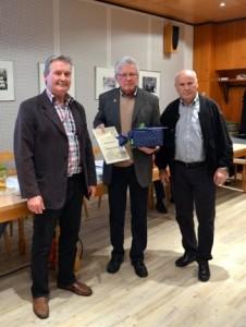 Jürgen Hennig, Erich Schorb und Werner Hauss