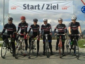 Das Team Baden-Forchheim in den Ersatztrikots