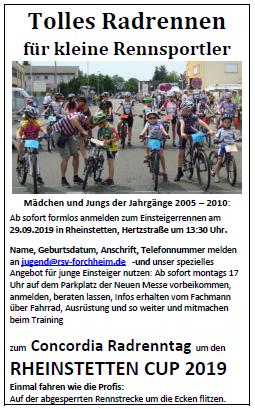Sonntag, 29. September 2019 - RheinstettenCup 2019