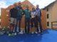 Von links : Marc, Phillip und Florian Lipowitz, Astrid Listl und Matthias Burster